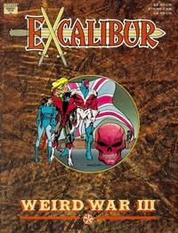 Cover Thumbnail for Excalibur: Weird War III (Marvel, 1990 series)