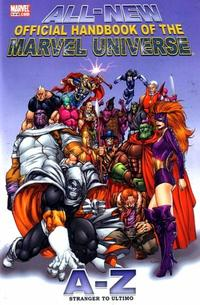 Cover Thumbnail for All-New Official Handbook of the Marvel Universe A to Z (Marvel, 2006 series) #11