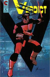 Cover Thumbnail for The Verdict (Eternity, 1987 series) #1