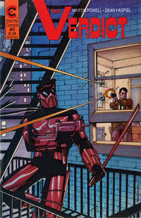 Cover Thumbnail for The Verdict (Malibu, 1988 series) #3