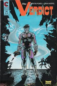 Cover Thumbnail for The Verdict (Malibu, 1988 series) #4
