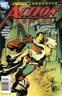 Cover Thumbnail for Action Comics (DC, 1938 series) #836