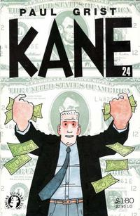 Cover Thumbnail for Not Really Kane 24 (Dancing Elephant Press, 1999 series) #[nn]