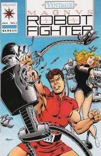 Cover Thumbnail for Vintage Magnus Robot Fighter (Acclaim / Valiant, 1992 series) #1
