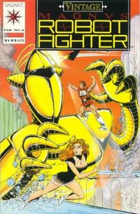 Cover Thumbnail for Vintage Magnus Robot Fighter (Acclaim / Valiant, 1992 series) #2