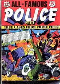 Cover Thumbnail for All-Famous Police Cases (Star Publications, 1952 series) #6