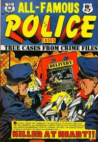 Cover Thumbnail for All-Famous Police Cases (Star Publications, 1952 series) #7