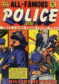 Cover Thumbnail for All-Famous Police Cases (Star Publications, 1952 series) #8