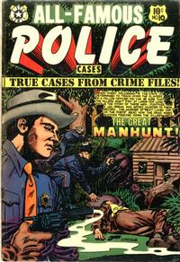 Cover Thumbnail for All-Famous Police Cases (Star Publications, 1952 series) #10