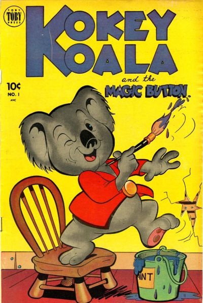 Cover for Kokey Koala (Toby, 1952 series) #1