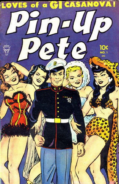 Cover for Pin-Up Pete (Toby, 1952 series) #1