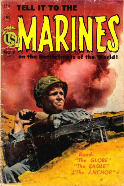 Cover for Tell It to the Marines (Toby, 1952 series) #9
