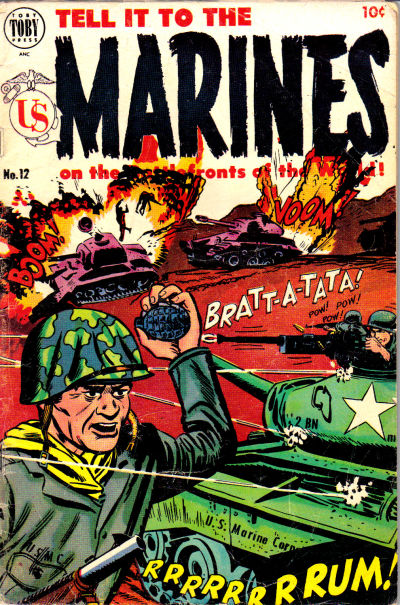 Cover for Tell It to the Marines (Toby, 1952 series) #12