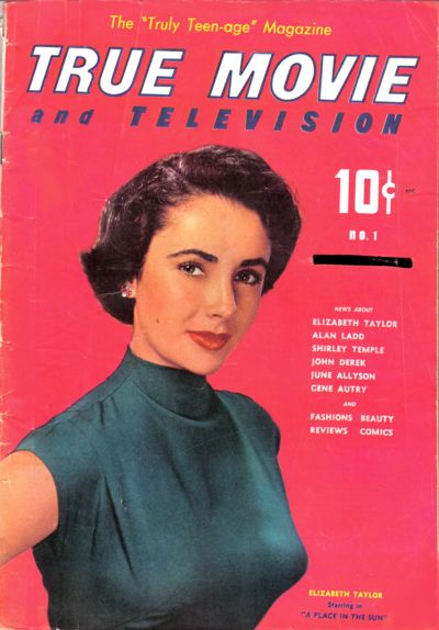 Cover for True Movie and Television (Toby, 1950 series) #1