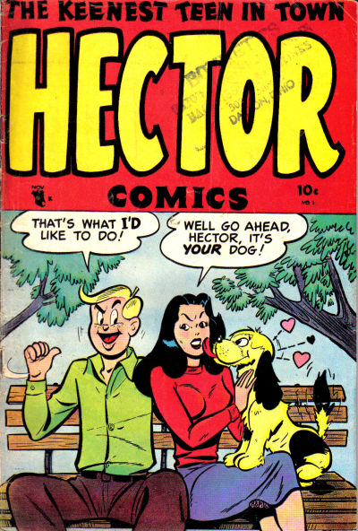 Cover for Hector Comics (Stanley Morse, 1953 series) #1