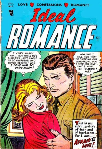 Cover for Ideal Romance (Stanley Morse, 1954 series) #3