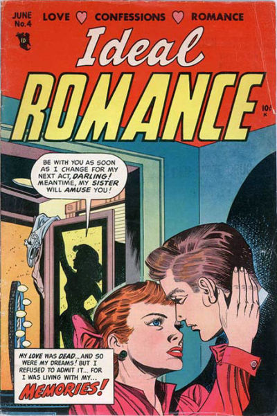 Cover for Ideal Romance (Stanley Morse, 1954 series) #4