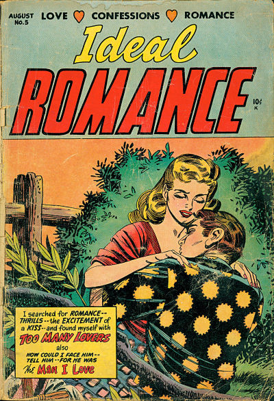 Cover for Ideal Romance (Stanley Morse, 1954 series) #5