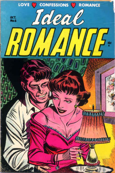 Cover for Ideal Romance (Stanley Morse, 1954 series) #6