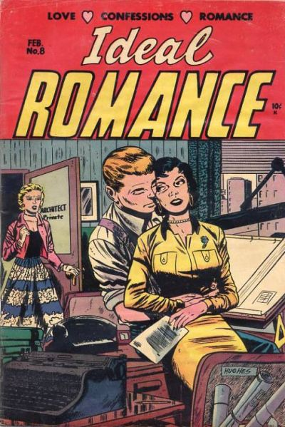 Cover for Ideal Romance (Stanley Morse, 1954 series) #8