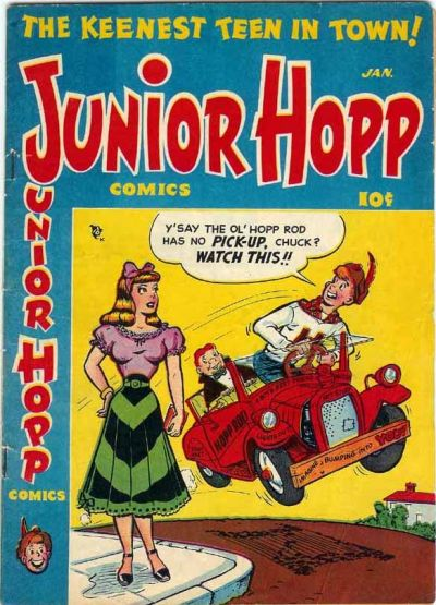 Cover for Junior Hopp Comics (Stanley Morse, 1952 series) #1