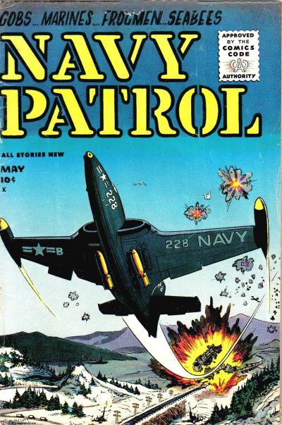 Cover for Navy Patrol (Stanley Morse, 1955 series) #1