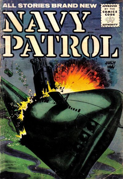 Cover for Navy Patrol (Stanley Morse, 1955 series) #2
