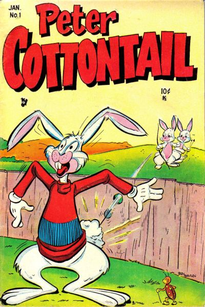 Cover for Peter Cottontail (Stanley Morse, 1954 series) #1