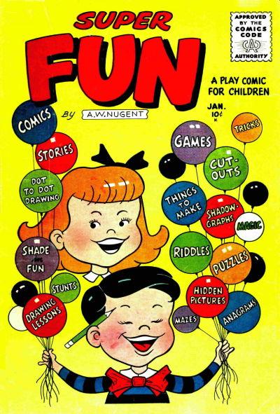 Cover for Super Fun (Stanley Morse, 1956 series) #1