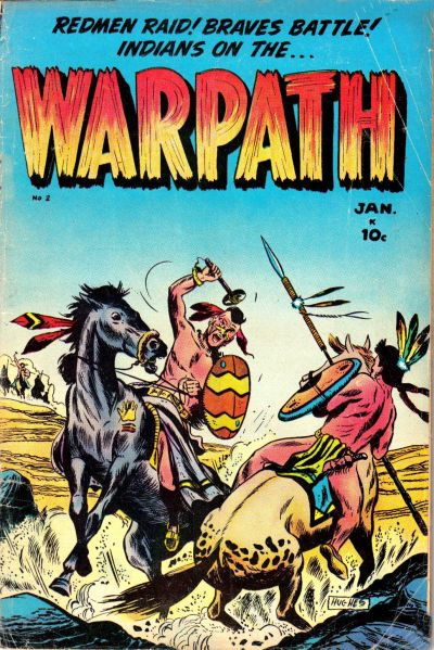 Cover for Warpath (Stanley Morse, 1954 series) #2