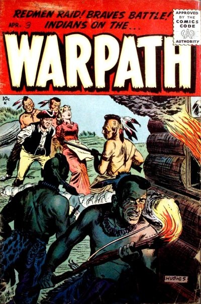 Cover for Warpath (Stanley Morse, 1954 series) #3