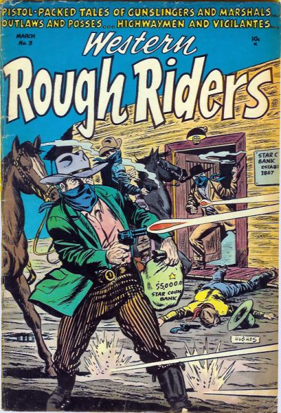 Cover for Western Rough Riders (Stanley Morse, 1954 series) #3