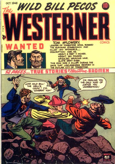 Cover for The Westerner Comics (Orbit-Wanted, 1948 series) #16