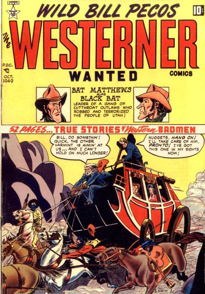 Cover for The Westerner Comics (Orbit-Wanted, 1948 series) #23