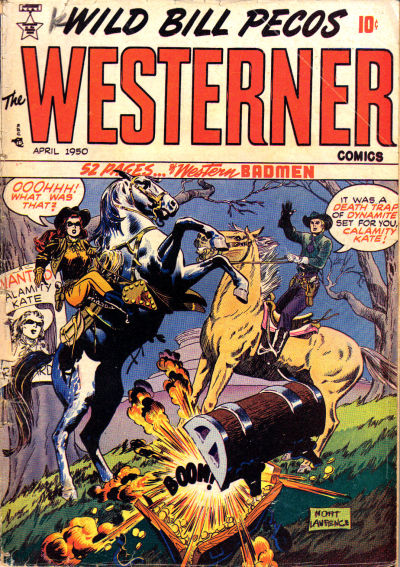 Cover for The Westerner Comics (Orbit-Wanted, 1948 series) #26