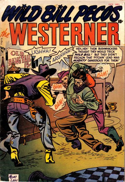 Cover for The Westerner Comics (Orbit-Wanted, 1948 series) #32
