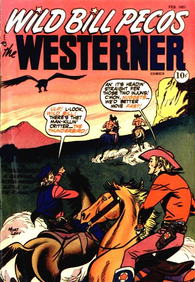 Cover for The Westerner Comics (Orbit-Wanted, 1948 series) #33