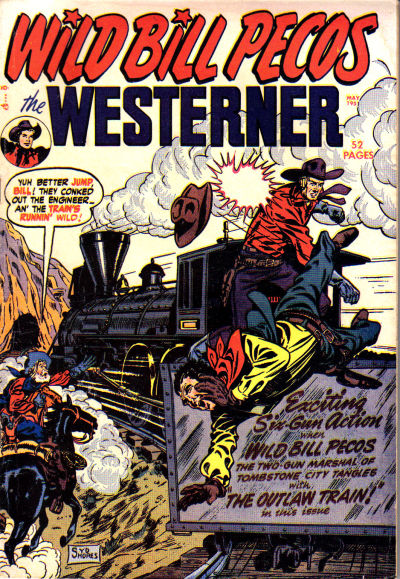 Cover for The Westerner Comics (Orbit-Wanted, 1948 series) #36