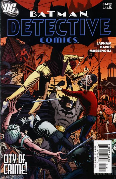 Cover for Detective Comics (DC, 1937 series) #814