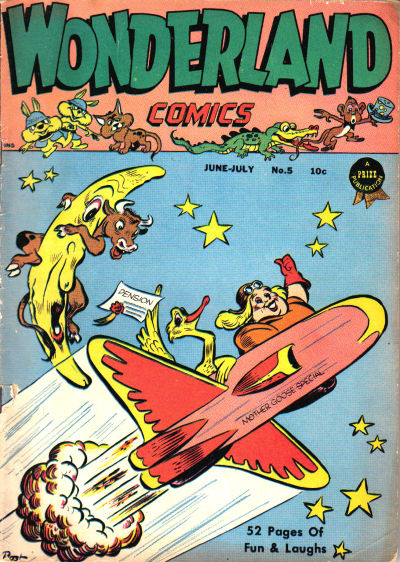 Cover for Wonderland Comics (Prize, 1945 series) #5