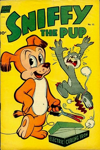 Cover for Sniffy the Pup (Pines, 1949 series) #15
