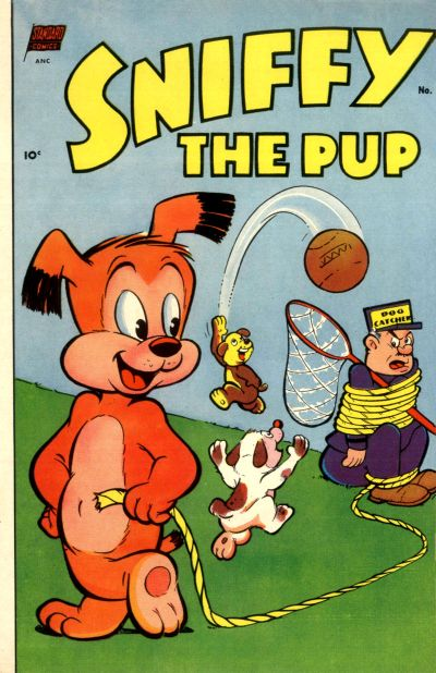 Cover for Sniffy the Pup (Pines, 1949 series) #17