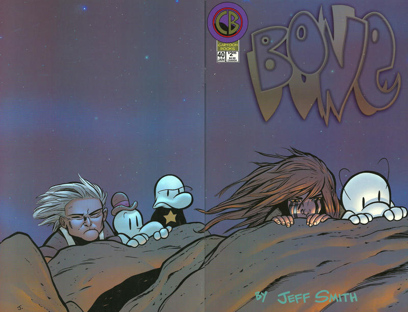 Cover for Bone (Cartoon Books, 1997 series) #40