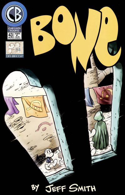 Cover for Bone (Cartoon Books, 1997 series) #43