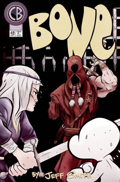 Cover for Bone (Cartoon Books, 1997 series) #49