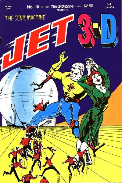 Cover for The 3-D Zone (3-D Zone, 1986 series) #10