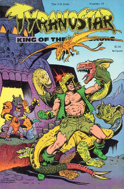 Cover for The 3-D Zone (3-D Zone, 1986 series) #14