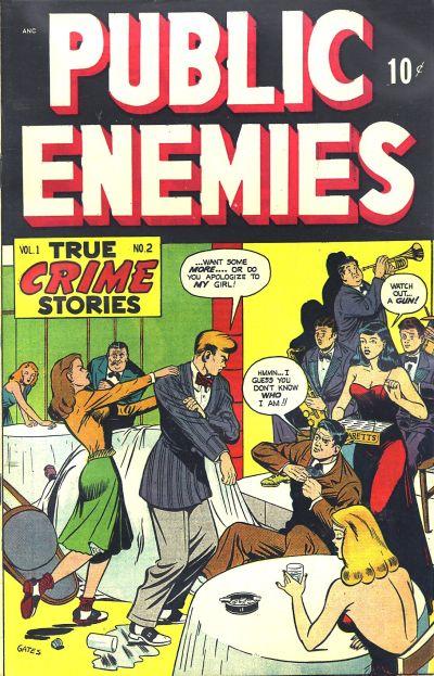 Cover for Public Enemies (D.S. Publishing, 1948 series) #v1#2