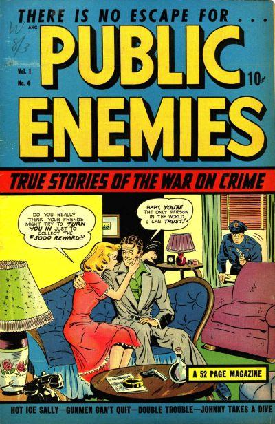 Cover for Public Enemies (D.S. Publishing, 1948 series) #v1#4