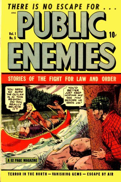 Cover for Public Enemies (D.S. Publishing, 1948 series) #v1#5